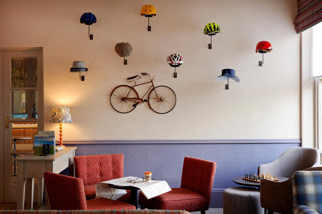 Bike & Boot Scarborough - a hotel design by Rachel McLane Ltd