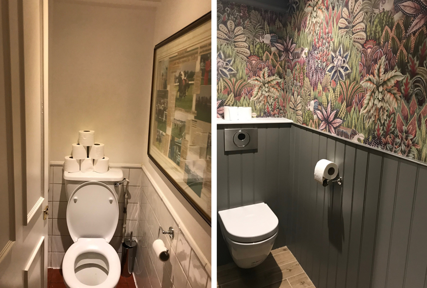 DA Beeley WC Before & After