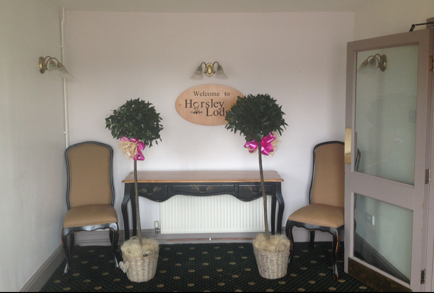 Hotel Interiors - Horsley Lodge Function Suite by Rachel McLane Ltd