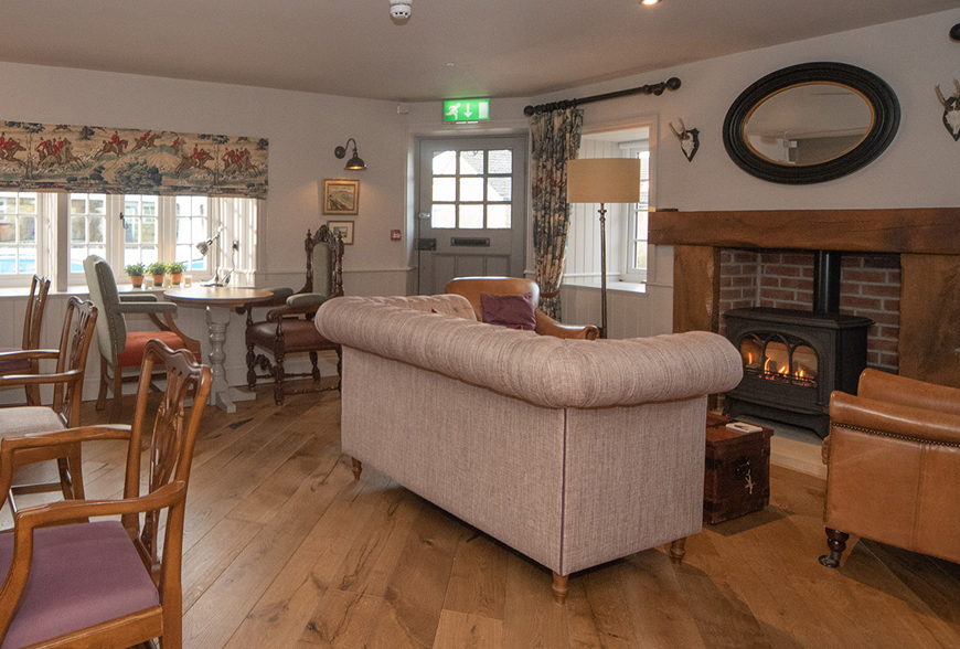 Farrier Cayton refurbishment interior designer Rachel McLane Ltd