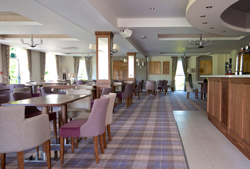 golf club house interior design refurbishment pannal golf club harrogate