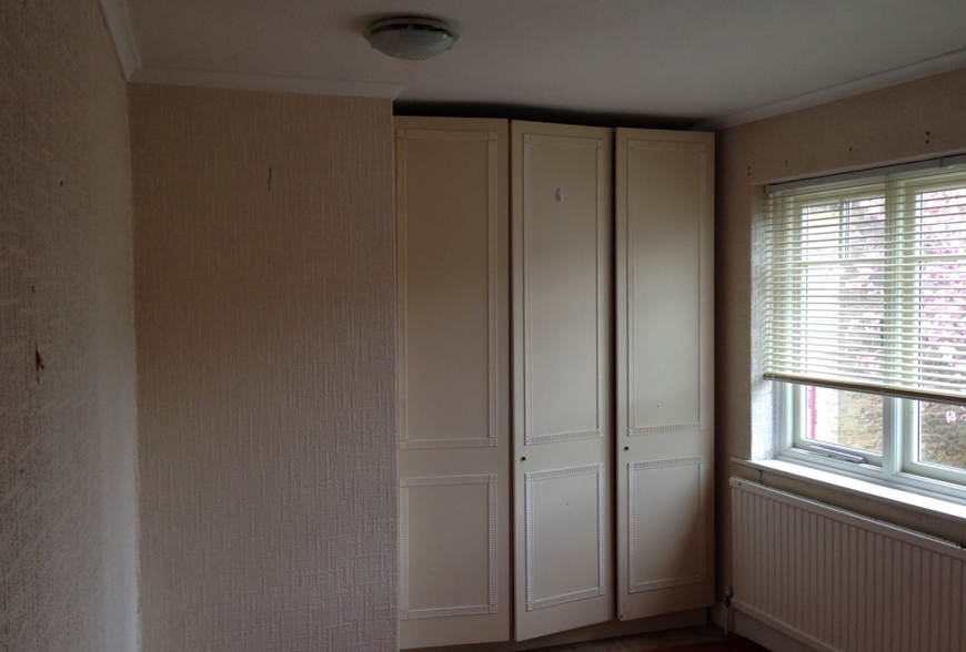 before picture of bathroom yew tree apartment