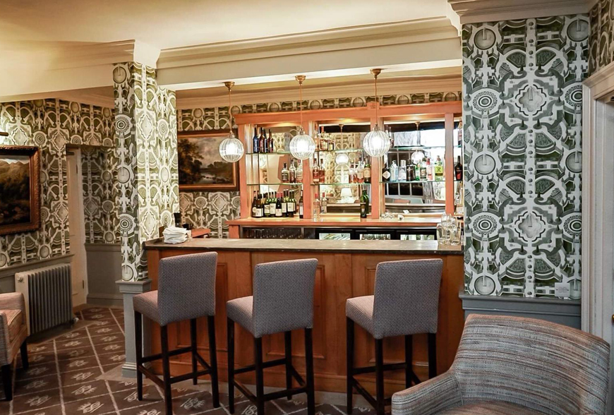 Cavendish Lounge Cavendish Hotel Baslow by Rachel McLane Ltd