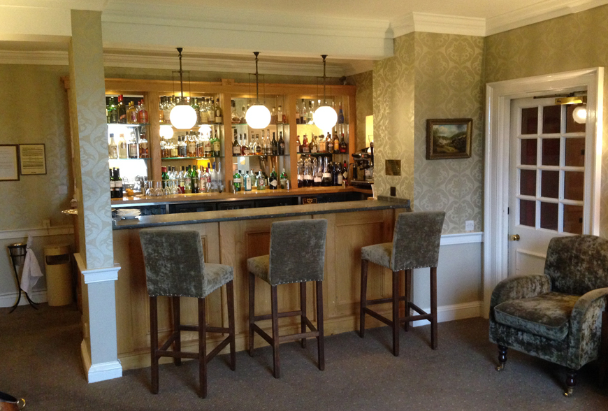 Before picture Cavendish Hotel Lounge Refurbishment by Rachel McLane Ltd