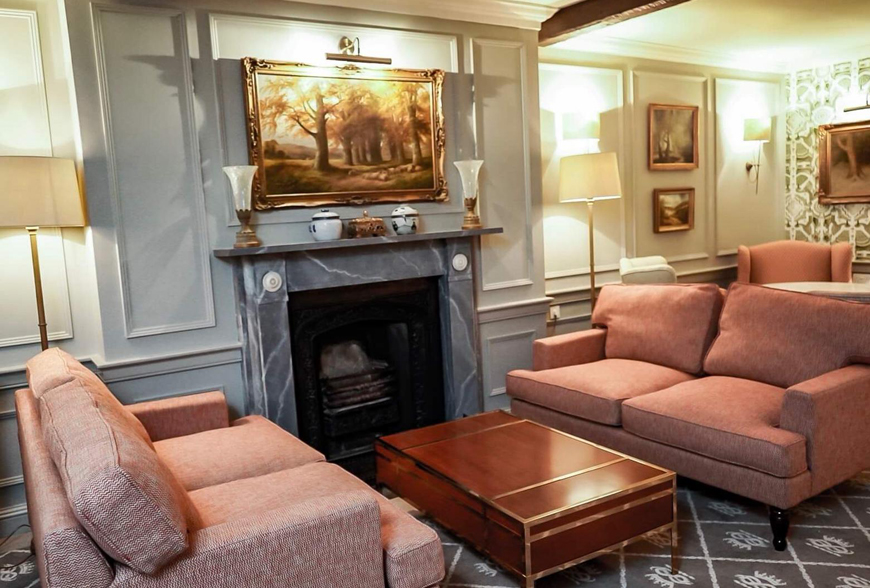 Cavendish Hotel Lounge Refurbishment by Rachel McLane Ltd