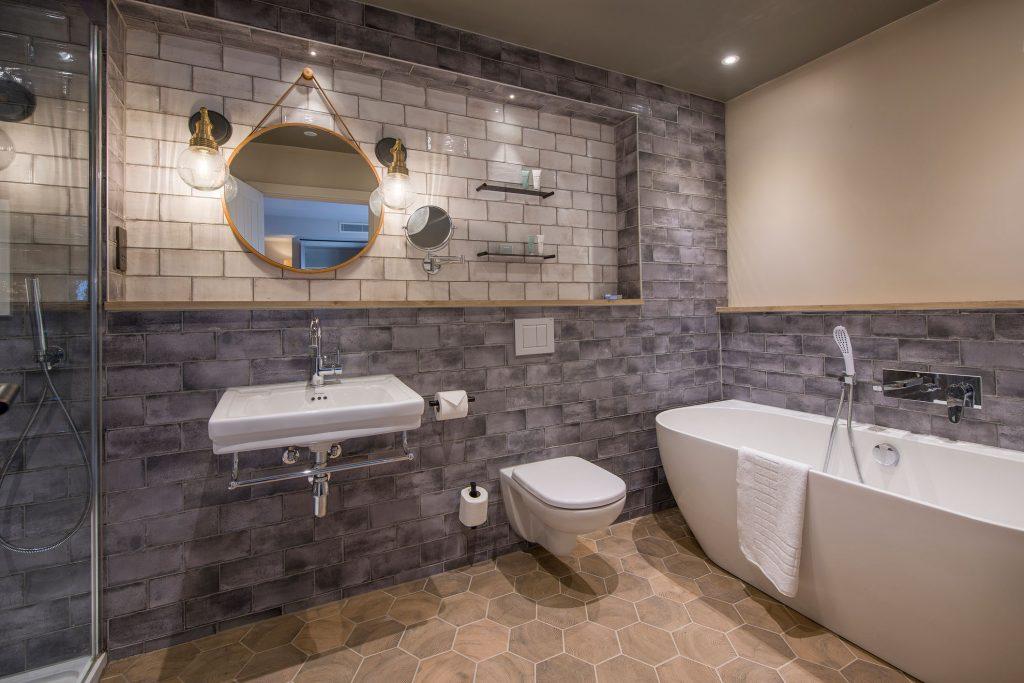 Sandburn Hall Bathroom by Rachel McLane Ltd