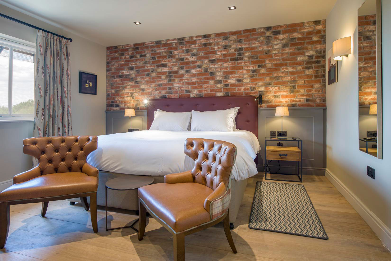 Sandburn Hall Bedroom by Rachel McLane Ltd